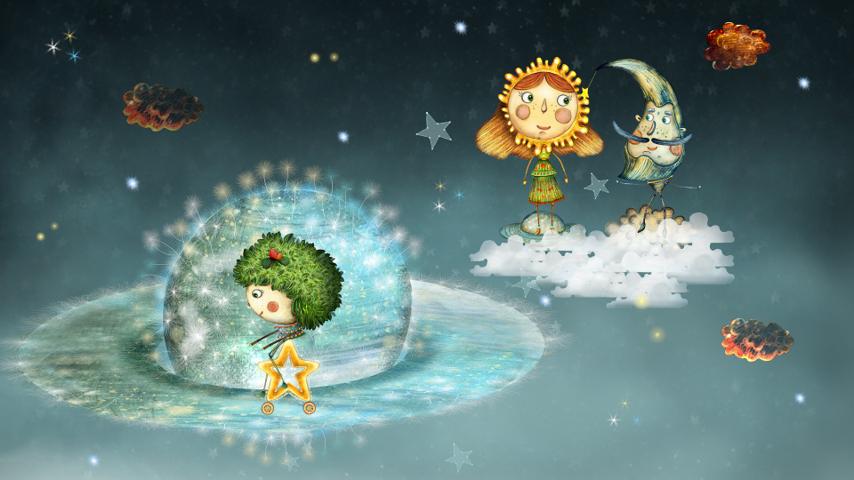 The Sun and the Moon - magical animated fairy tale for kids